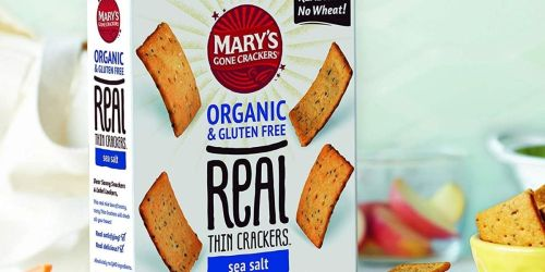Mary's Gone Crackers from $2.66 Per Box Shipped on Amazon