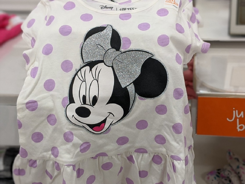 minnie mouse shirt for small child