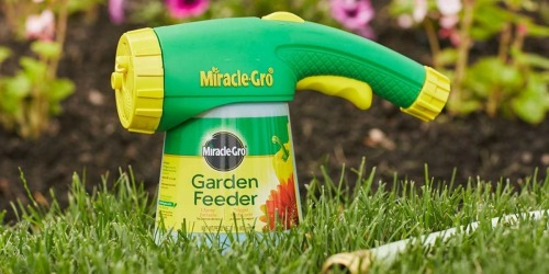 Miracle-Gro Garden Feeder w/ Plant Food Just $7 on Amazon