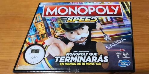 Monopoly Speed Board Game Just $9.99 on Walmart.com (Regularly $20) – Play Monopoly in Under 10 Minutes