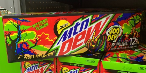 Mountain Dew VooDew Mystery Flavor is Now at Walmart