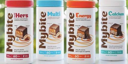 FREE Mybite Vitamins for Teachers | Four Flavors to Choose Including Chocolate