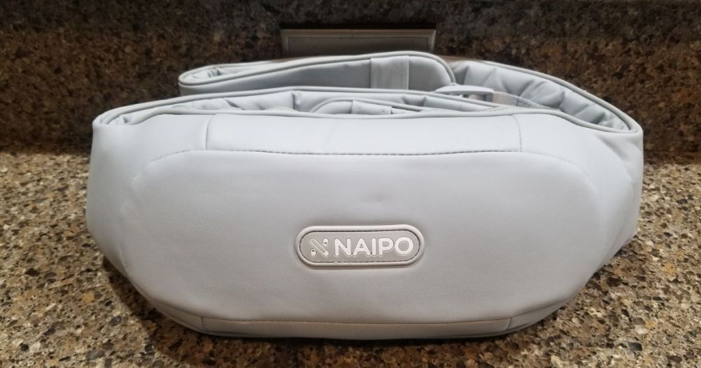 naipo back massager on counter