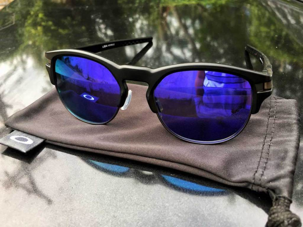 sunglases on a pouch