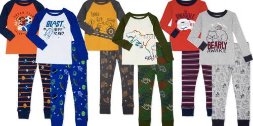 Wonder Nation Boys & Toddler 4-Piece Pajama Sets Just $9.92 on Walmart.com