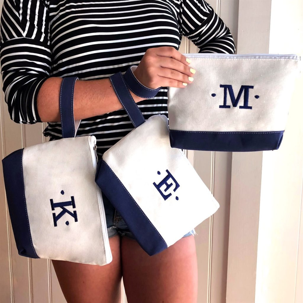 personalized canvas wristlets from jane.com