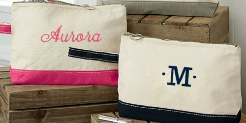 Personalized Canvas Wristlet Only $10.99 Shipped (Regularly $30)