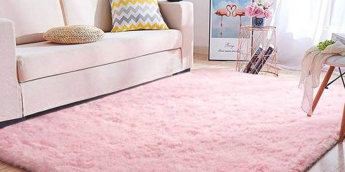 Super Soft 4'x6′ Rug Only $19.98 on Amazon | Perfect for Kids Rooms, Nurseries + More