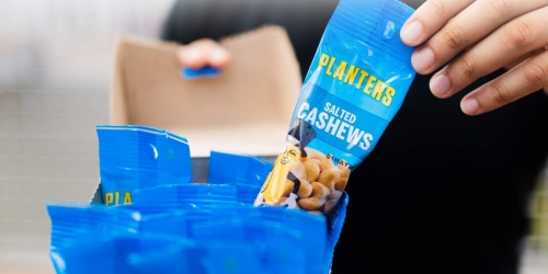 Planters Cashew Packs 18-Count Only $11 Shipped on Amazon | Just 61¢ Each