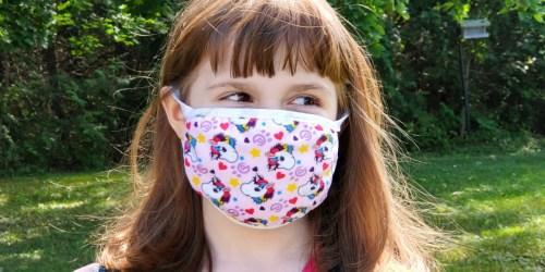 Kids Adjustable Face Mask 12-Packs Only $14.99 (Regularly $25) | Just $1.24 Per Mask