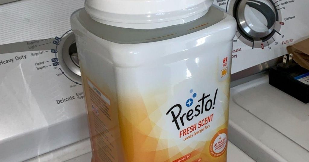 Presto Fresh Scent Laundry detergent