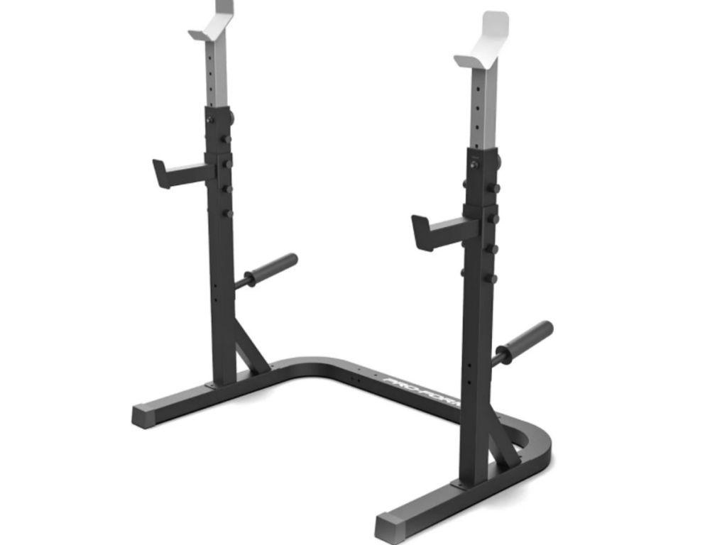 home gym rack
