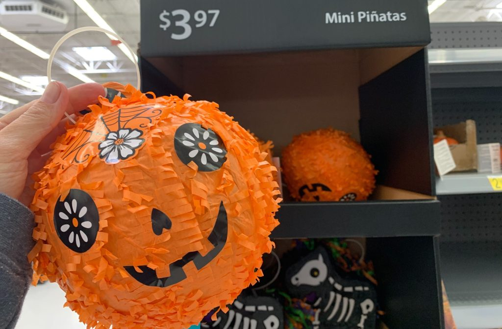 pumpkin pinata at walmart