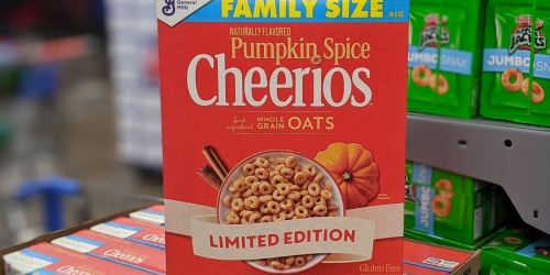 Nestle Toll House Pumpkin Baking Chips & Limited Edition Pumpkin Spice Cheerios at Walmart NOW