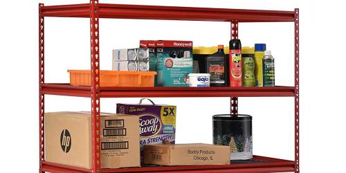 5-Shelf Steel Storage Unit Just $86.99 Shipped on Walmart.com | Perfect for Organizing Stockpiles