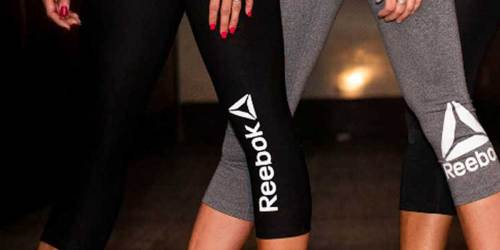 Buy One, Get One FREE Reebok Women's Quick Capri Leggings (Just $15 Each)