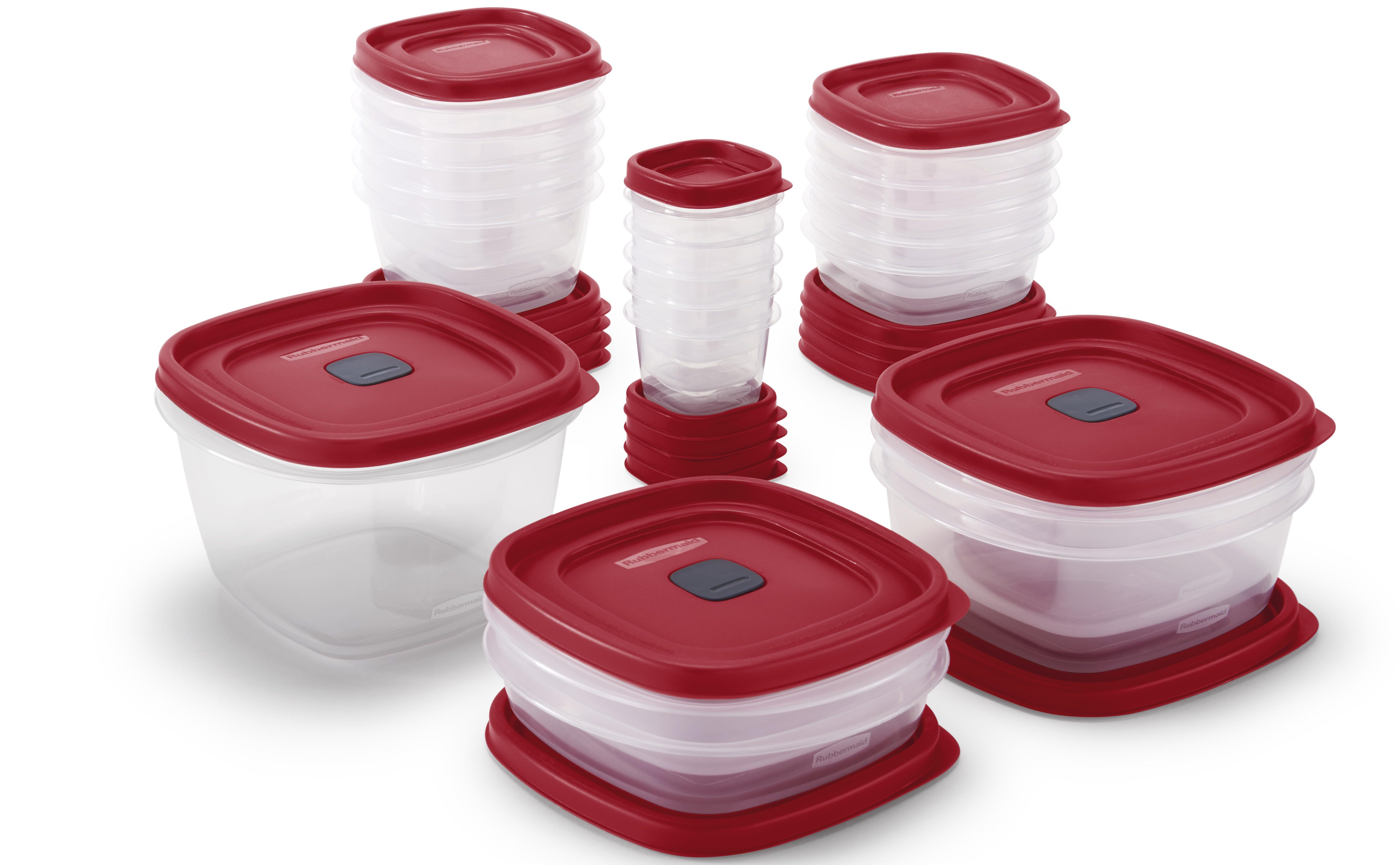 rubbermaid set with lids