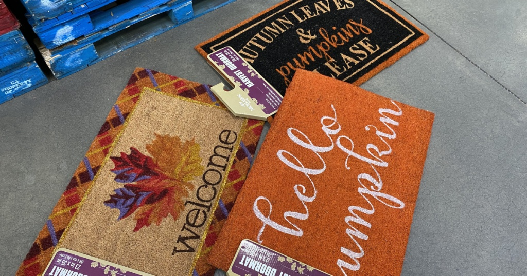 sams club doormats for fall