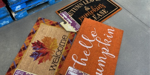 Fall & Holiday-Themed Doormats Only $14.98 at Sam's Club