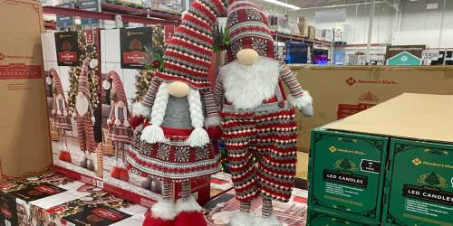 These Christmas Gnomes are Too Adorable to Pass Up | Available at Sam's Club