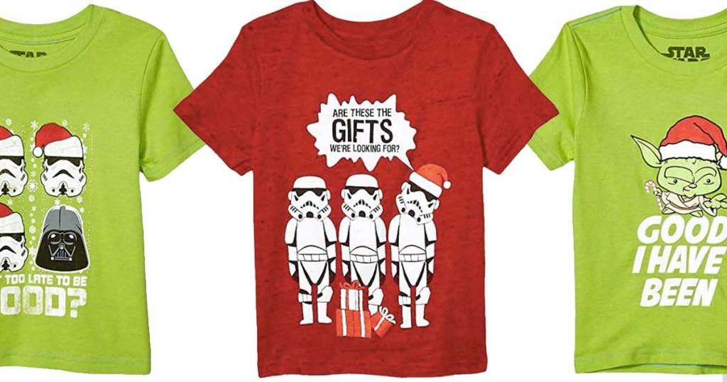 star wars ugly christmas t shirts