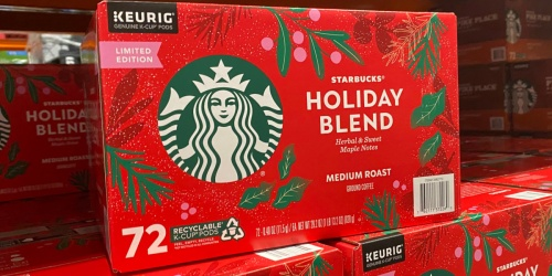 Starbucks Limited Edition Holiday Blend K-Cups Now at Costco