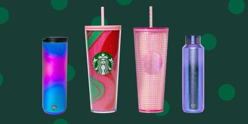 Starbucks Has Revealed Their New Holiday Reusable Cups for 2020