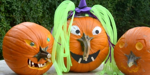 This Pumpkin Decorating Idea is So Clever – Use the Stem as the Nose!