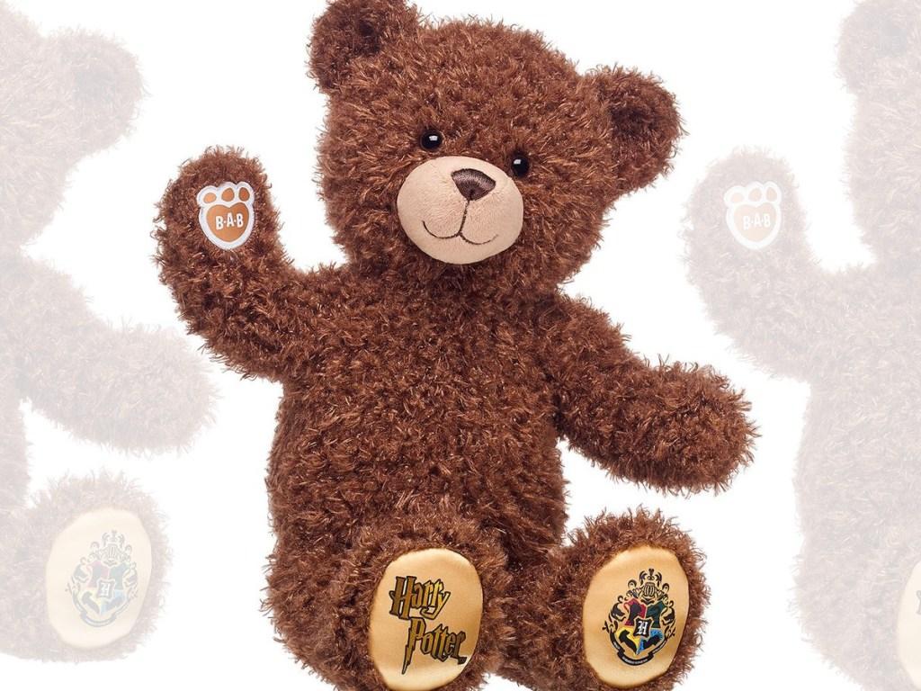 brown stuffed kids bear