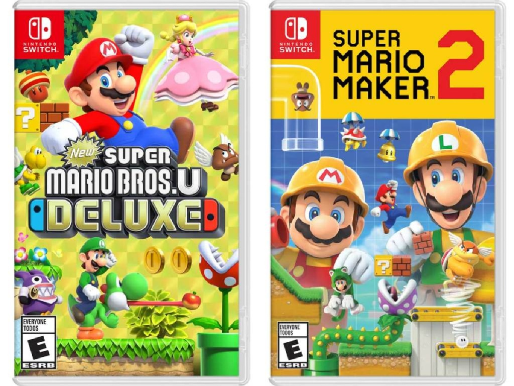 super mario brothers nintendo switch games