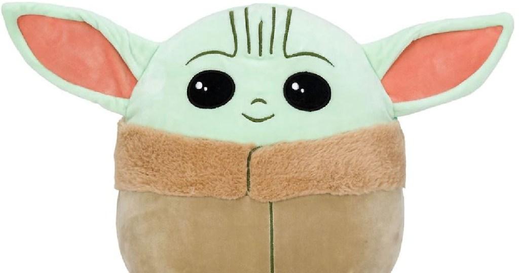 green big eyed stuff toy