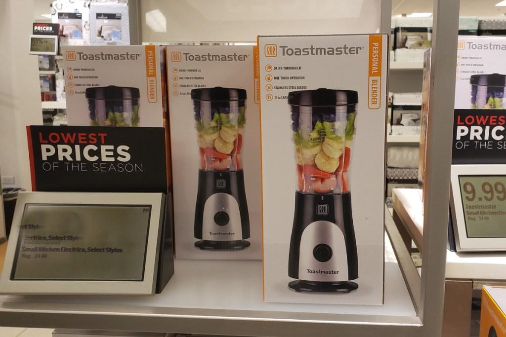toastmaster blender in box at kohls