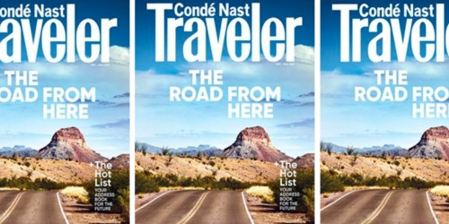 Complimentary 1-Year Condé Nast Traveler Magazine Subscription