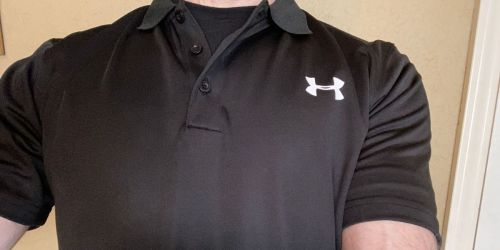 Under Armour Men's Polos Only $15 Each Shipped (Regularly $50)