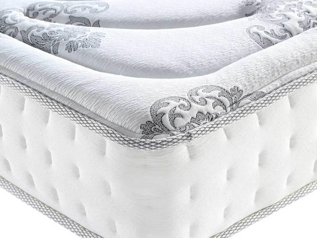 up close look at mattress