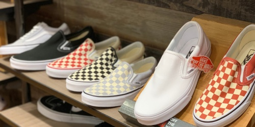 Vans Kids Shoes from $18.99 Per Pair Shipped + Earn $10 Kohl's Cash