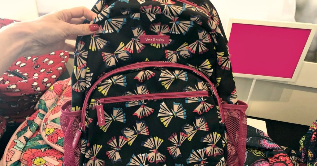butterfly print backpack in-store