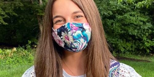 Vera Bradley Reusable Face Mask 2-Packs Only $4 (Regularly $16)