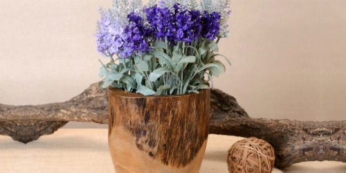 Up to 65% Off Handmade Wooden Bowls & Vases on HomeDepot.com