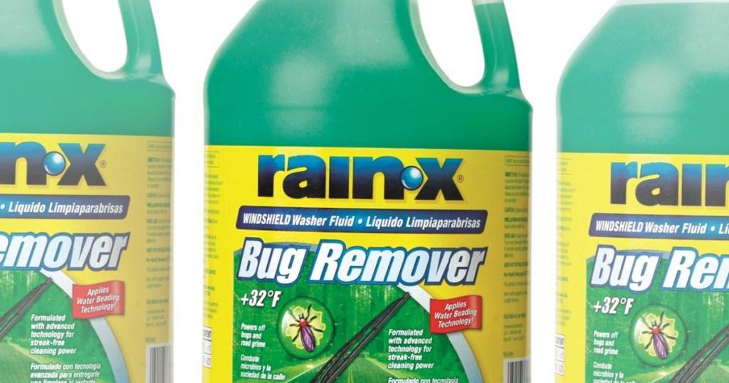 rain-x windshield wiper fluid