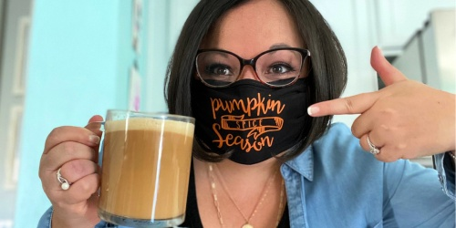 Win a Fun Pumpkin Face Mask (We're Picking 15 Winners This Week!)