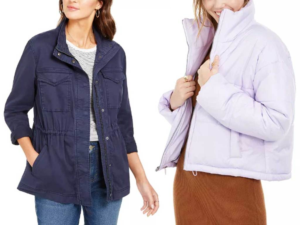 women wearing jackets