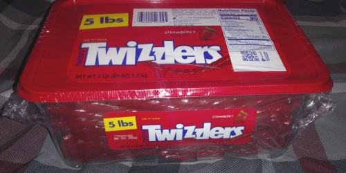 Twizzlers 5-Pound Tub Just $6 Shipped on Amazon (Regularly $12) + More Candy Deals