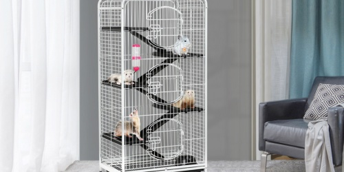 Pet Cage w/ Water Bottle & Food Bowl Only $83.99 Shipped on Walmart.com