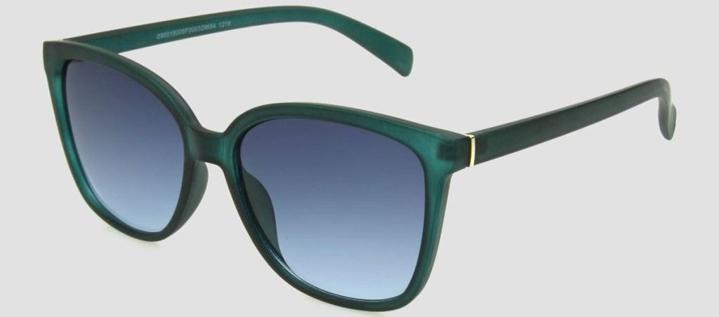 green women's sunglasses