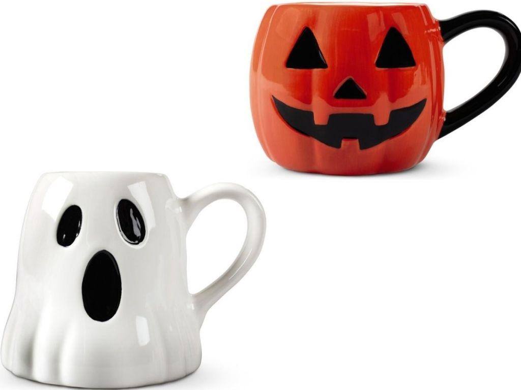 ALDI Halloween Mugs