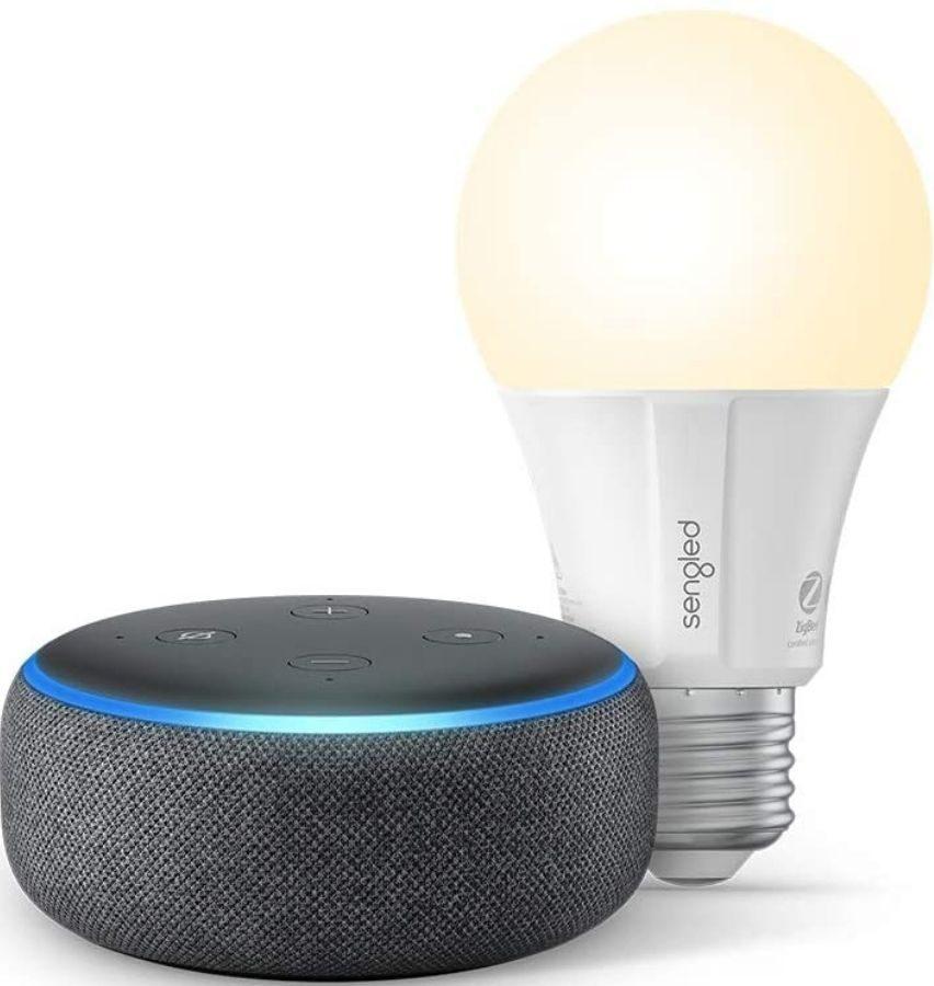 Amazon Echo Dot 3rd gen with bluetooth lightbuld