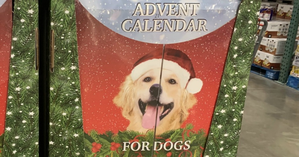 Advent calendar for dogs from Costco