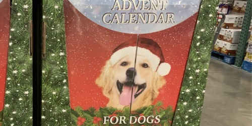 Advent Calendar For Dogs Only $23.99 at Costco | Over 100 Meaty Treats