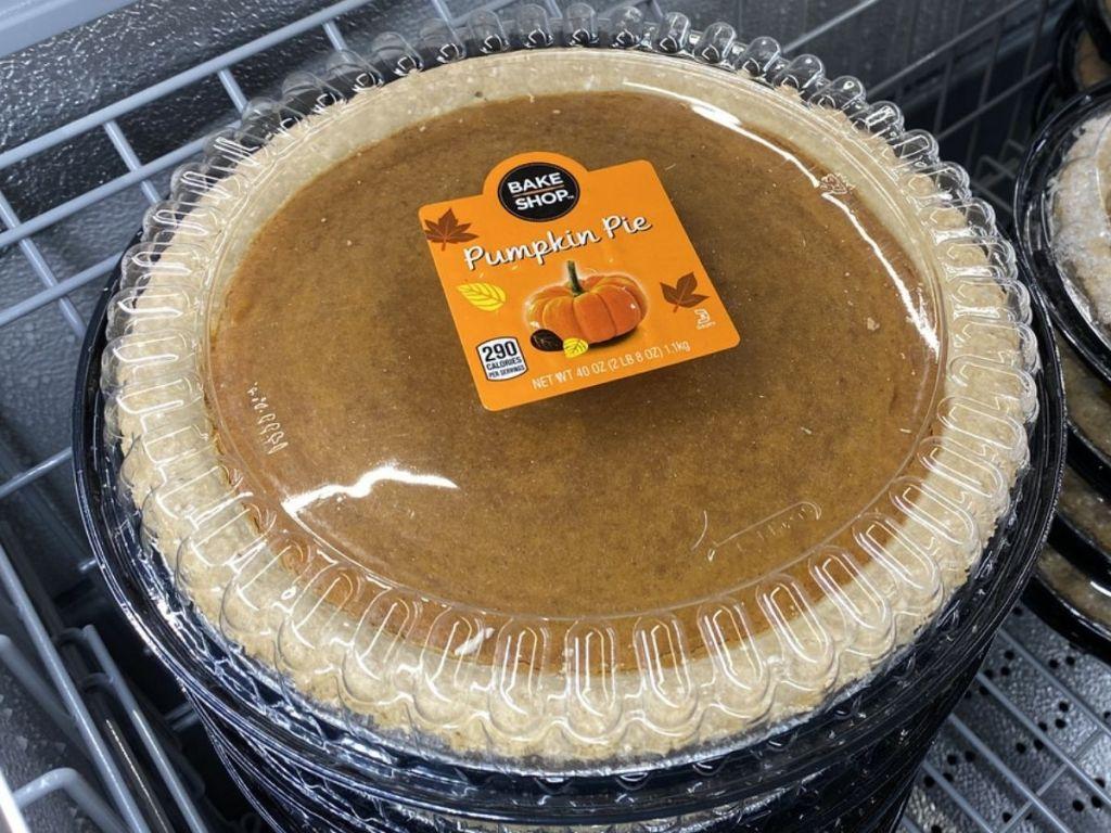 Aldi Bake Shop Pumpkin Pie
